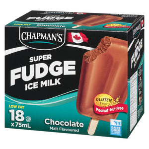 Chapmans Fudge Bar, 18x75mL