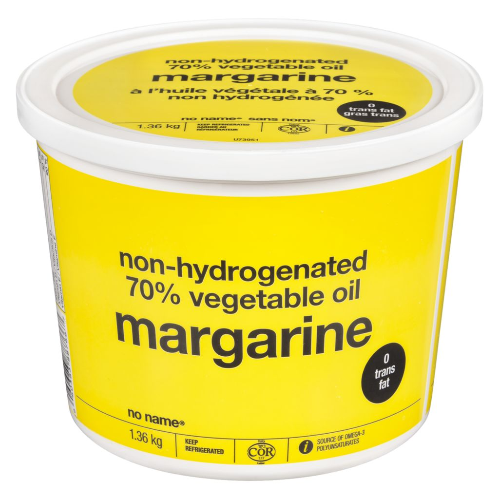 No Name Non-Hydrogenated Margarine, 1.36 kg