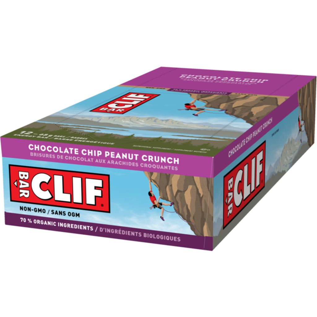 Clif Builder's Bar, Chocolate Peanut Butter Crunch (Case), 12x68g