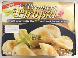 Naleway Perogies White Cheddar And Potato 4.54KG