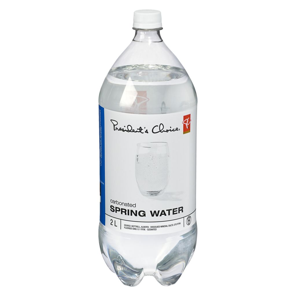 President's Choice Carbonated Spring Water, 2 L