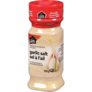 Club House Garlic Salt, 220 g