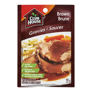 Club House Gravy Mix, Brown, 25 g