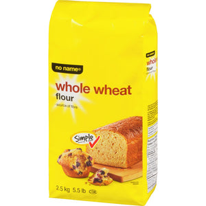 No Name Whole Wheat Flour, 2.50 kg