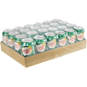 Canada Dry Ginger Ale (Case), 24x355mL