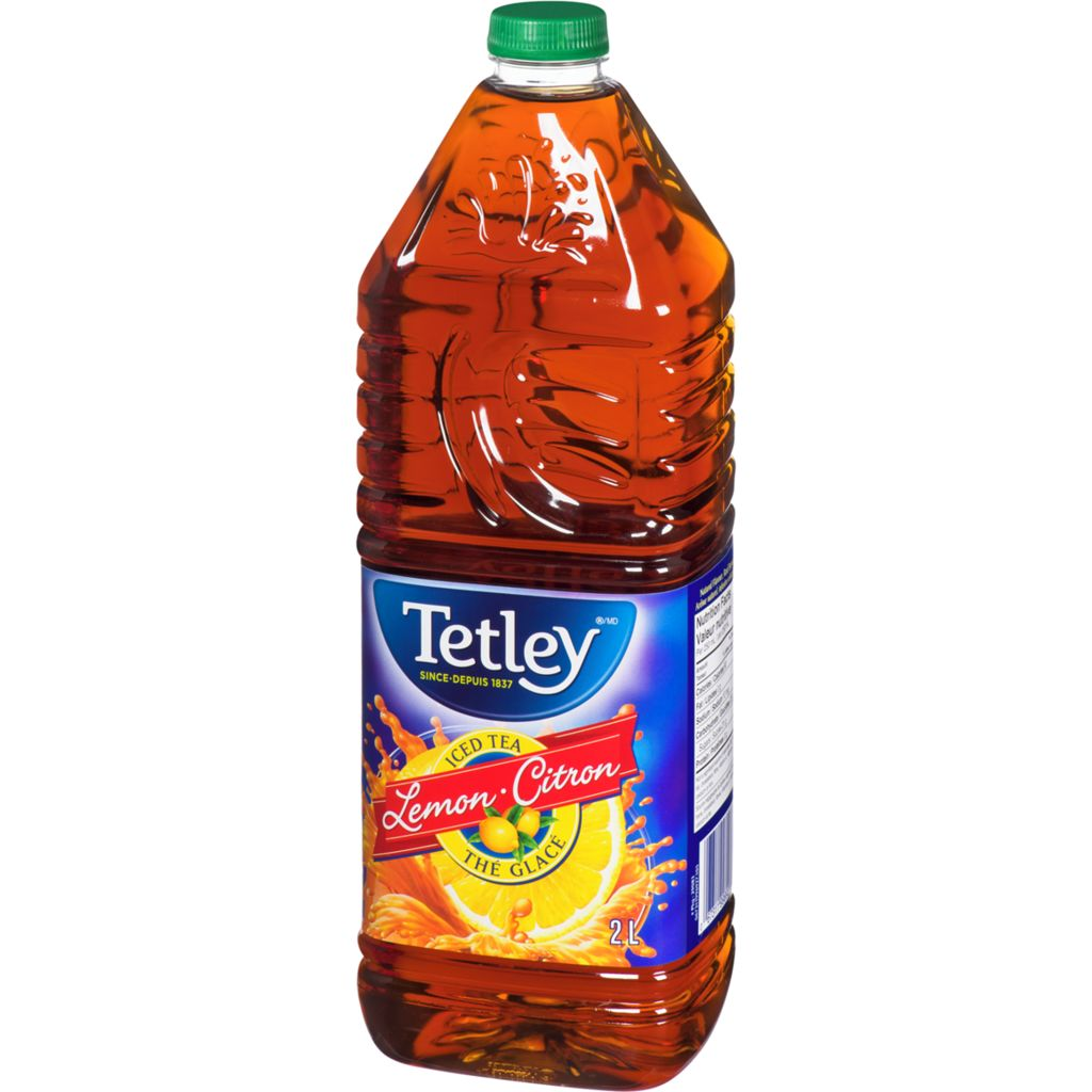 Tetley Iced Tea, Lemon, 2 L