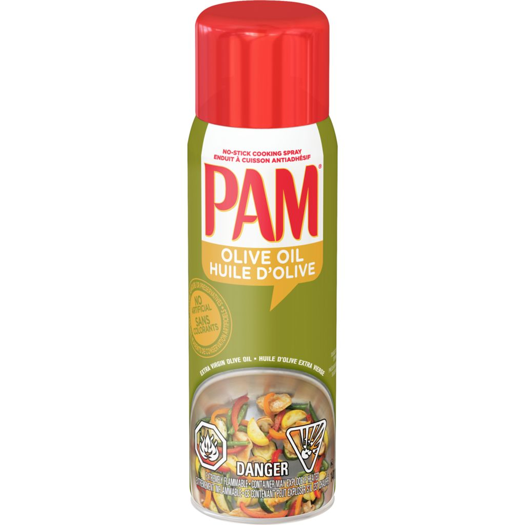 Pam Cooking Spray with Olive Oil, 141 g