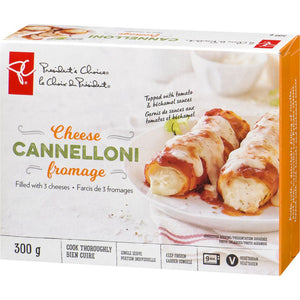 President's Choice 3-Cheese Cannelloni, 300 g