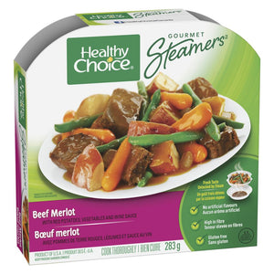 Healthy Choice Gourmet Steamers, Beef Merlot, 284 g