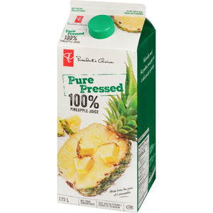 President's Choice Juice, Pineapple, 1.75 L
