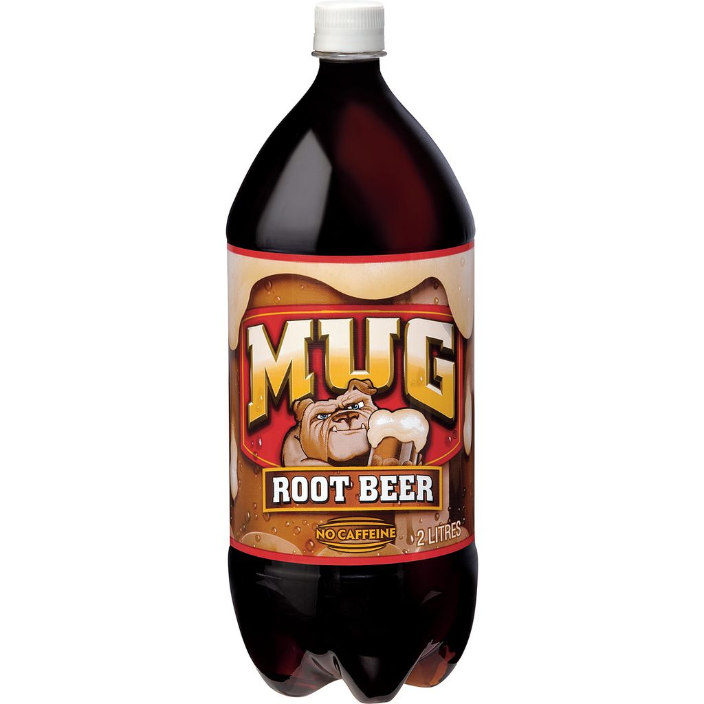 Mug Root Beer Soda, 2 L