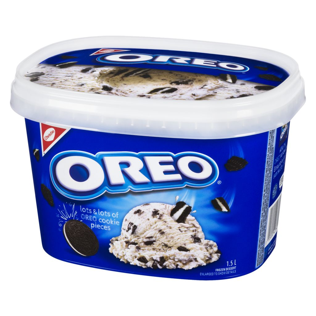 Christie Oreo Ice Cream, 1.50 L