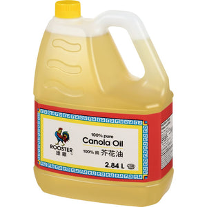Rooster Canola Oil, 2.84 L
