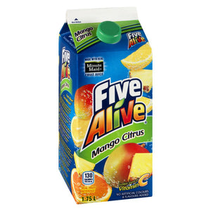 Five Alive Mango Citrus Juice, 1.75 L