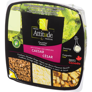 Fresh Attitude Caesar Salad with Toppings Single Sized, 175 g