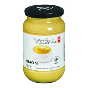 President's Choice Dijon Mustard, 250 mL