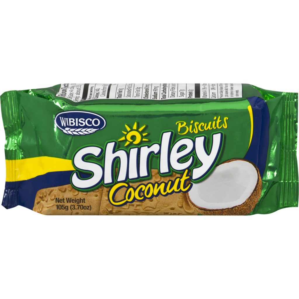Shirley Biscuits, Coconut, 100 g