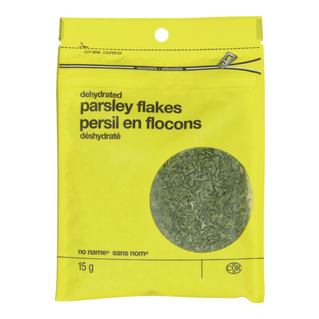 No Name Parsley Flakes, Dehydrated, 15 g
