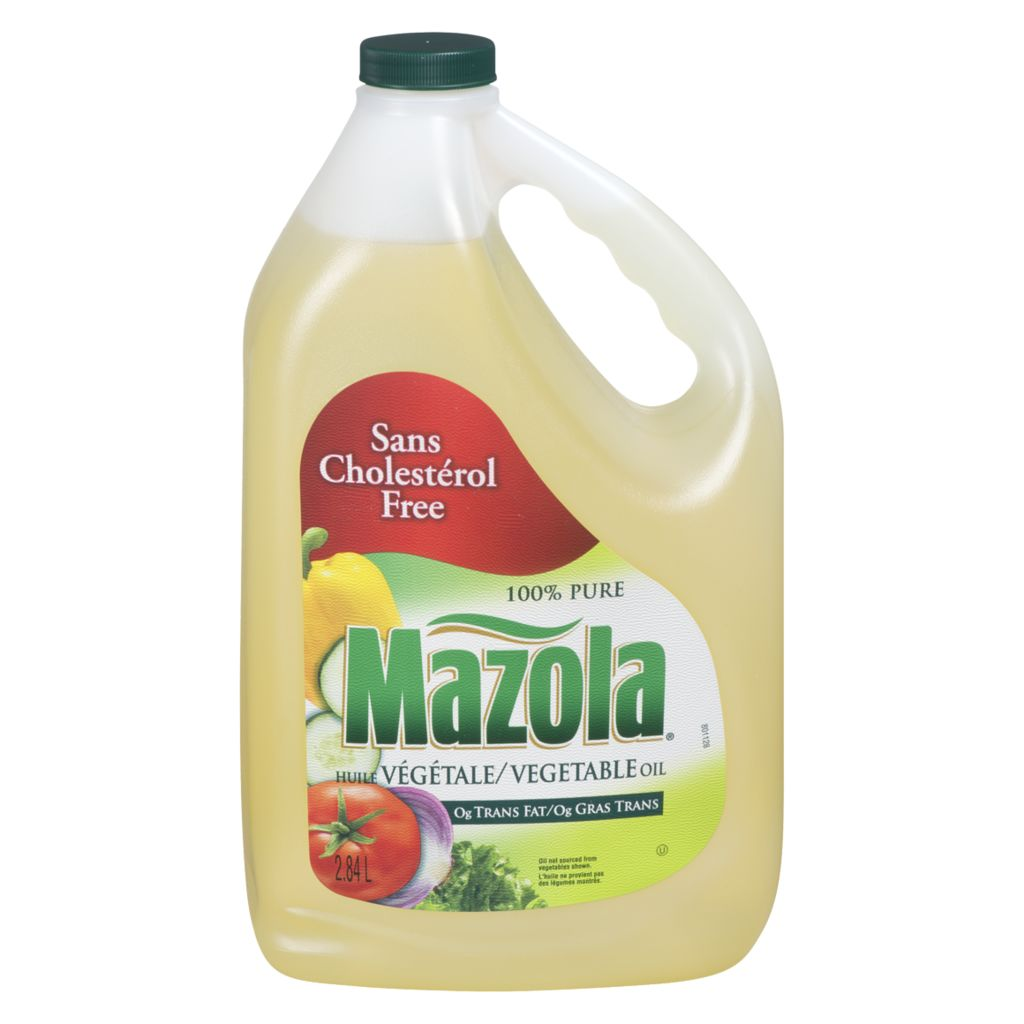 Mazola Vegetable Oil, 2.84 L