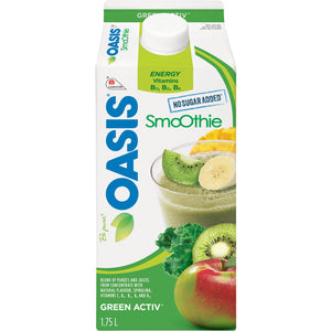 Oasis Greenergy Smoothie, 1.75 L