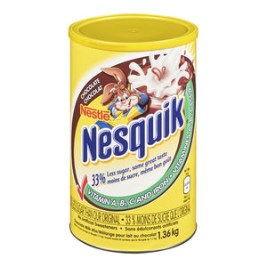 Nestle Chocolate Milk Mix Canister, 1.36 kg