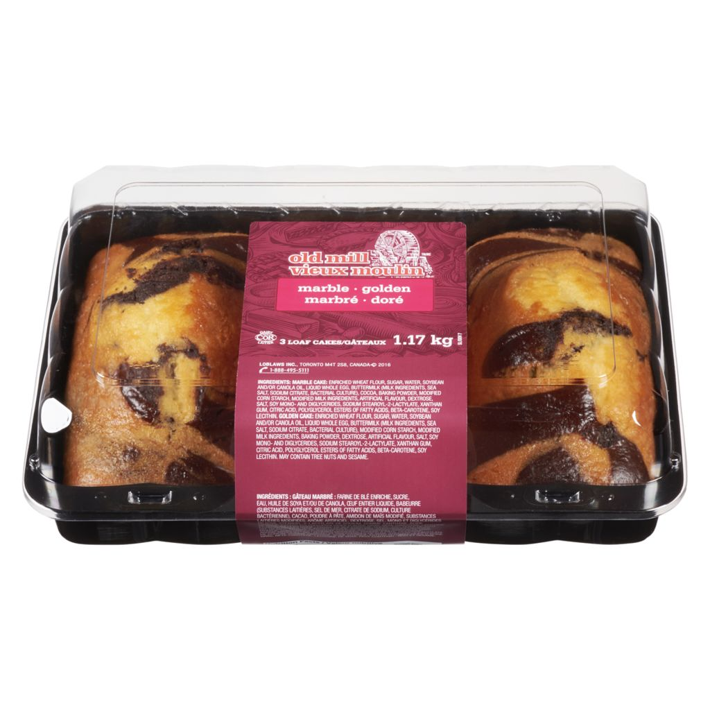 Old Mill Loaf Cakes, Club Pack, 1170 g