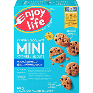 Enjoy Life Chocolate Chip Crunchy Mini Cookies, 170 g
