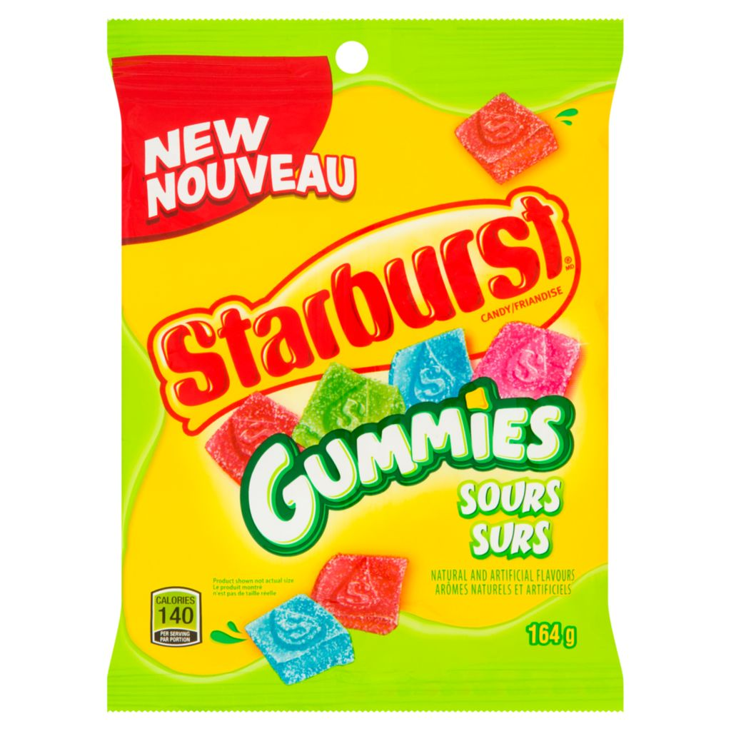 Starburst Starburst Gummies Sours, 164 g