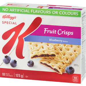 Kelloggs Special K Fruit Crisps, Blueberry Flavour 10 bars, 125 g