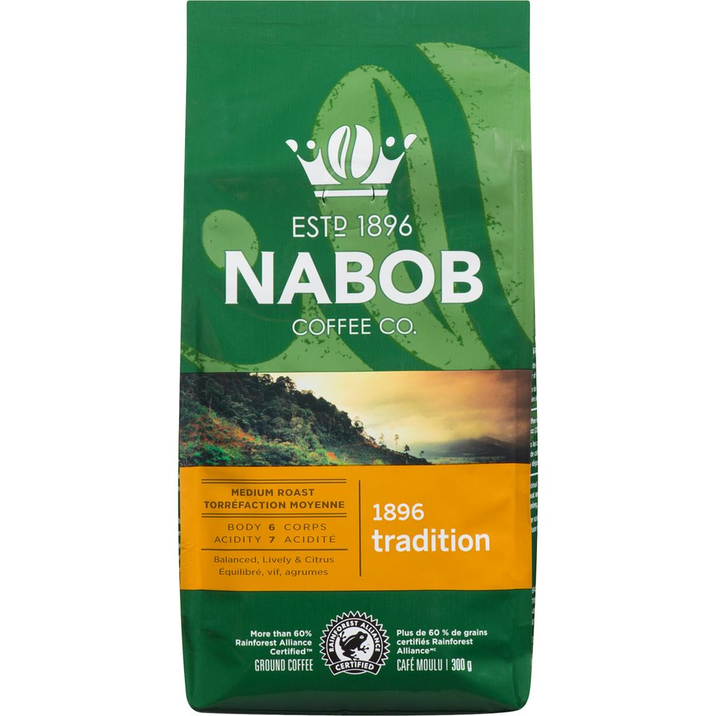 Nabob 1896 Tradition Ground Coffee, 300 g
