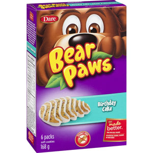 Dare Bear Paws Birthday Cake, 168 g