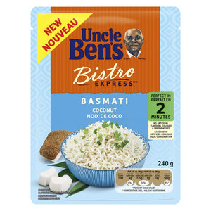 Uncle Ben's Bistro Express Coconut Basmati Rice, 240 g