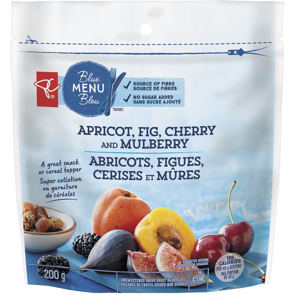 President's Choice Snacking Fruit, Mixed, 200 g