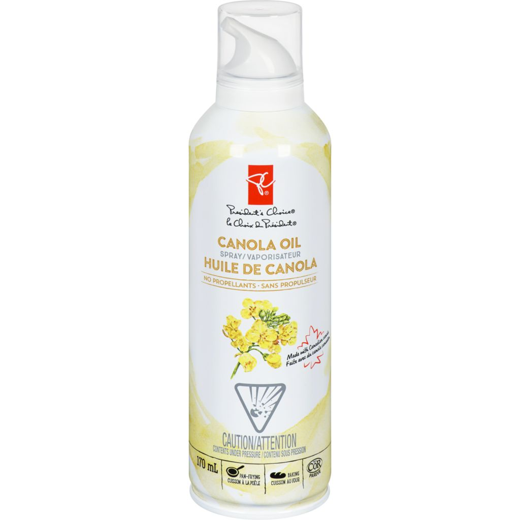 President's Choice Spray Canola Oil, 170 mL