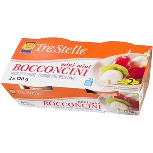 Tre Stelle Bocconcini Mini Twin Pack, 240 g