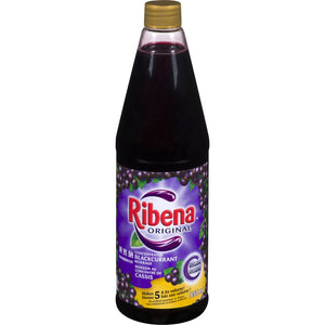 RIBENA Concentrated Blackcurrant Beverage Original 1.25L