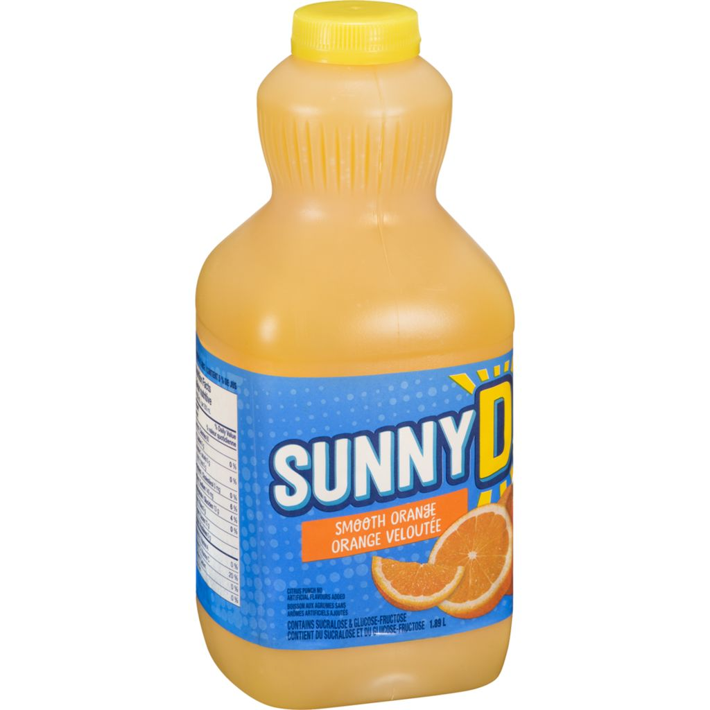 Sunny Delight Smooth, 1.89 L