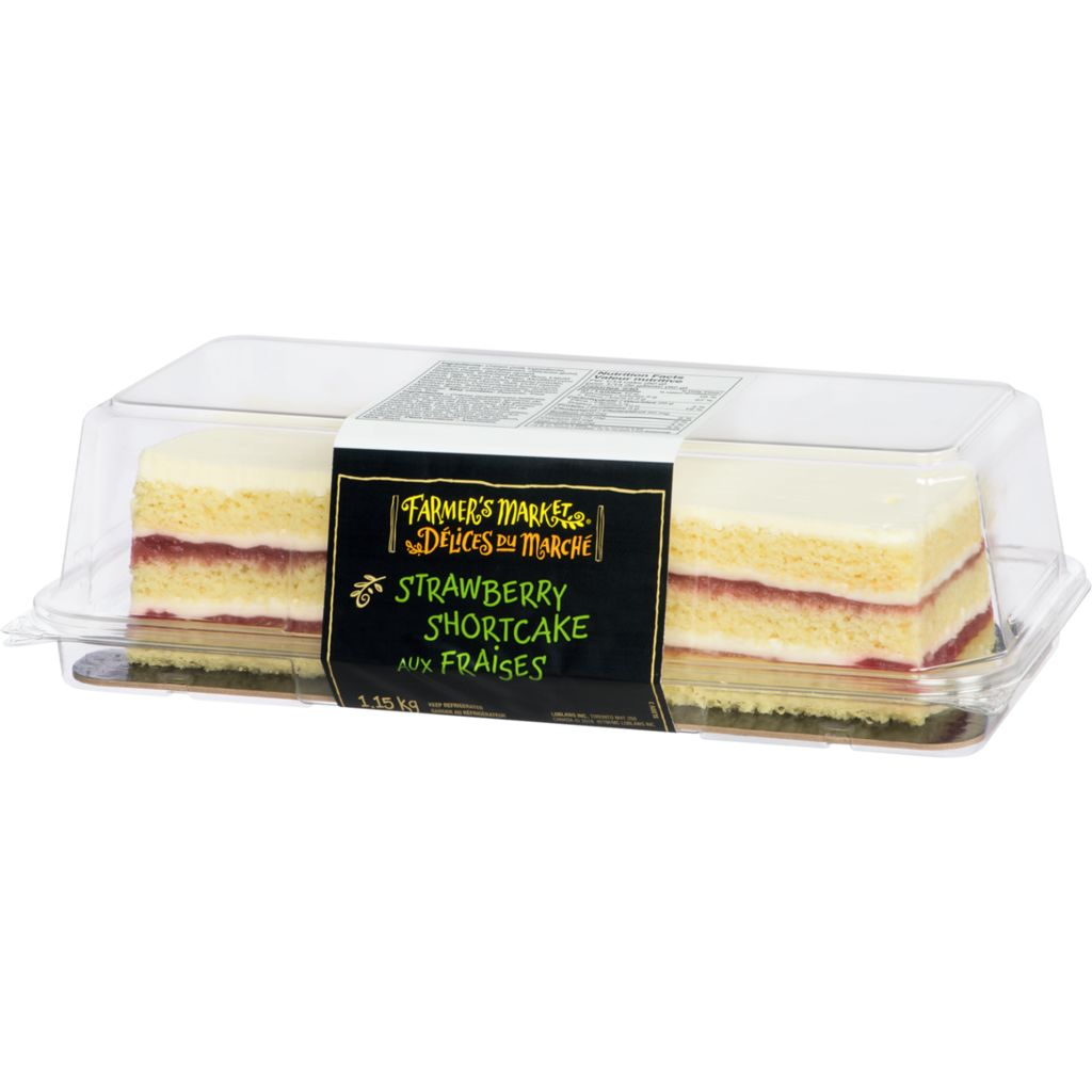 Farmer's Market Bar Cake, Strawberry, 1.15 kg