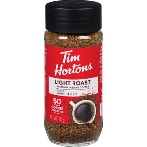 Tim Hortons Instant Coffee, Light, 100 g