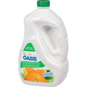 Oasis Juice Blend with Pulp, Orange, 2.50 L