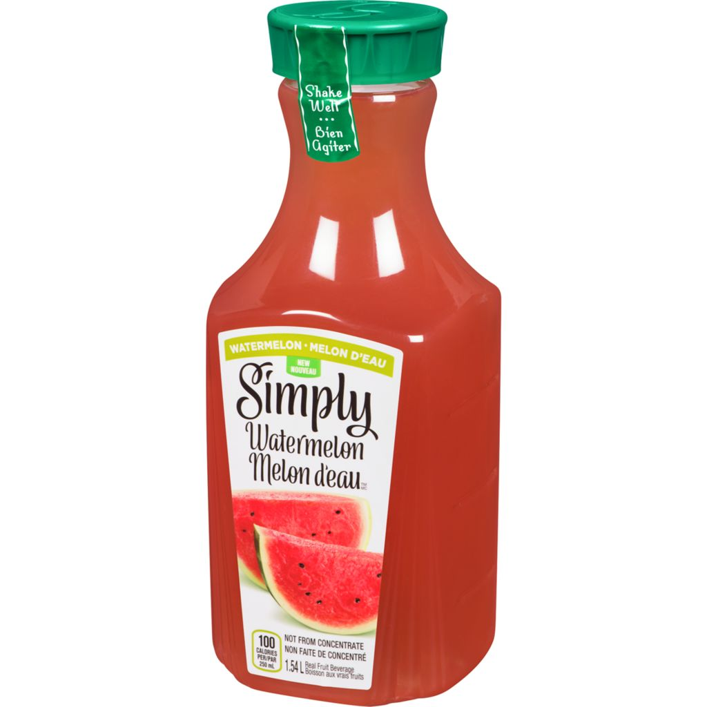 Simply Juice Drink, Watermelon, 1.54 L