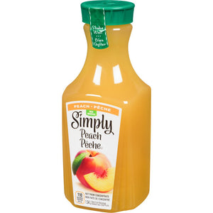 Simply Juice Drink, Peach, 1.54 L