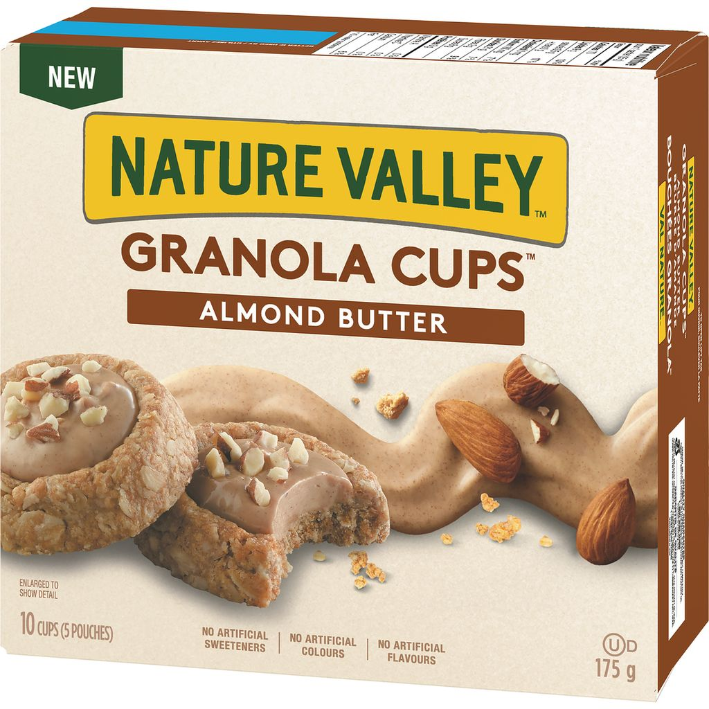 Nature Valley Granola Cups, Almond Butter, 175 g