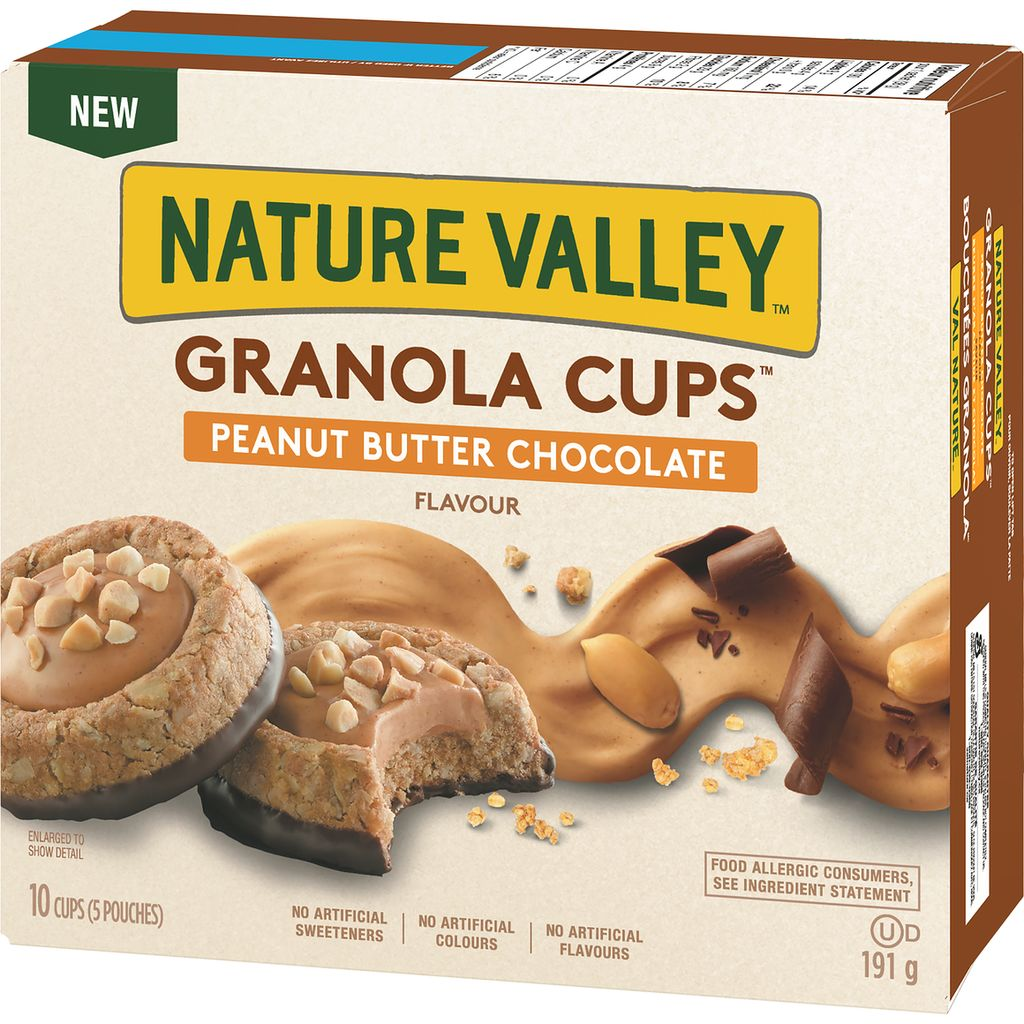 Nature Valley Granola Cups, Peanut Butter Chocolate, 191 g