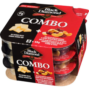 Black Diamond Combo Old White Cheddar Cheese, 127.60 g