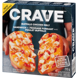 Crave Buffalo Chicken Frozen Melt, 210 g