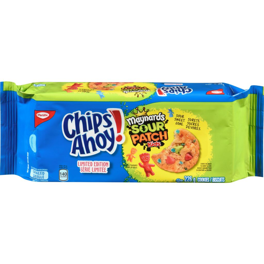 Christie Sour Patch Kids Cookies Limited Edition, 226 g
