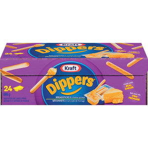 Kraft Dippers Breadsticks and Cheese Spread, 24x1ea