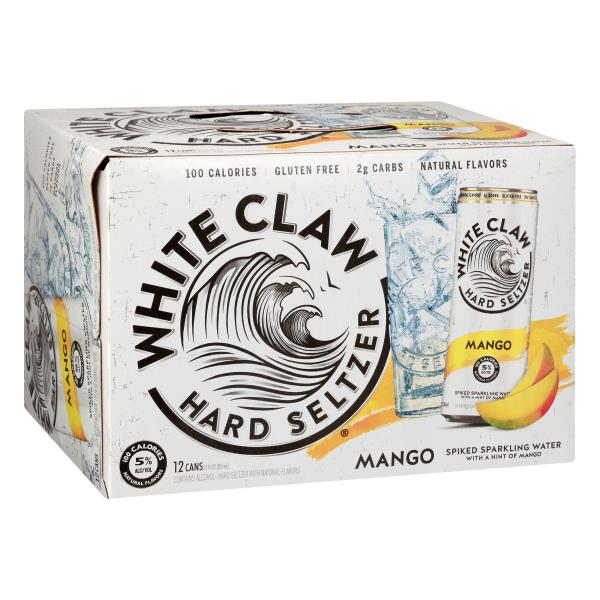 White Claw Hard Seltzer, 6 Pack