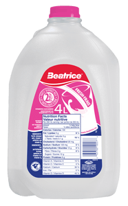 Beatrice 2% Partly Skimmed Milk 4 L